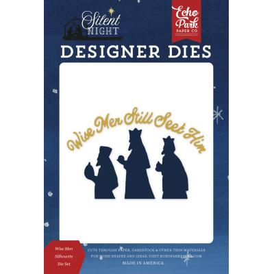 Echo Park Silent Night Die Set - Wise Men Silhouette