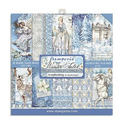 Stamperia Paper Pack - Winter Tales
