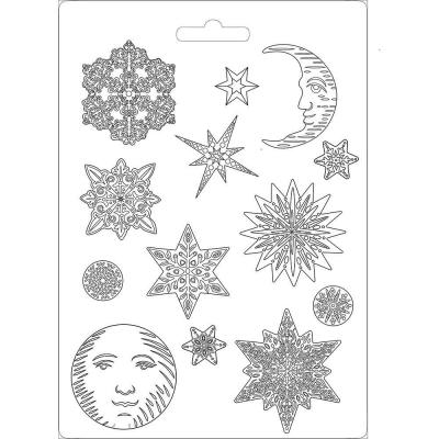 Stamperia Soft Mould - Snowflakes 2