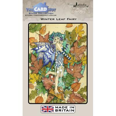 The Card Hut Clear Stamps - Winter Leaf Fairy
