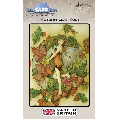 The Card Hut Clear Stamps - Autumn Leaf Fairy
