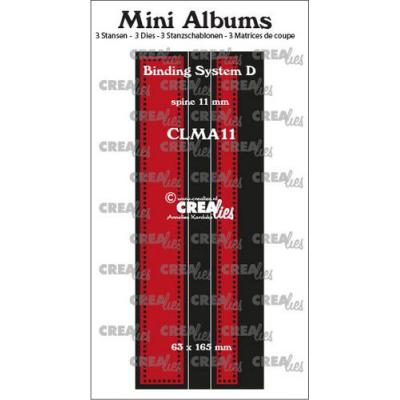 Crealies Dies -  Mini Albums Bindesystem D