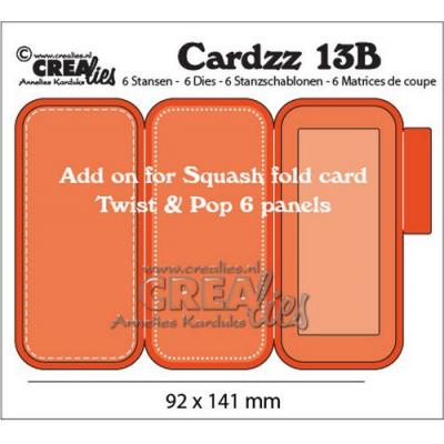 Crealies Dies Cardzz - Nr 13B Twist & Pop