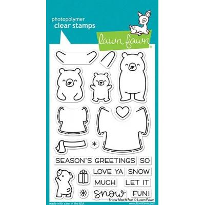 Lawn Fawn Clear Stamps - Snow Much Fun