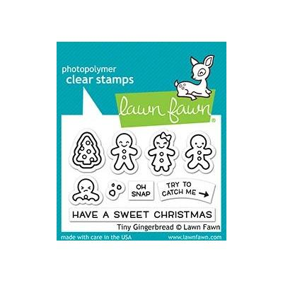 Lawn Fawn Clear Stamps - Tiny Gingerbread