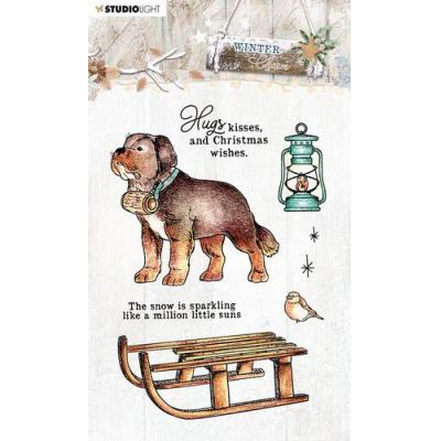 StudioLight Clear Stamps Winter Charm - Nr.488
