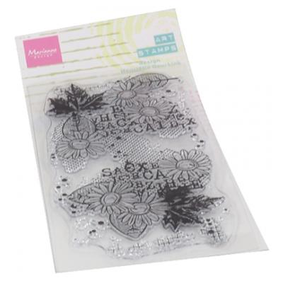 Marianne Design Clear Stamp - Chrysant