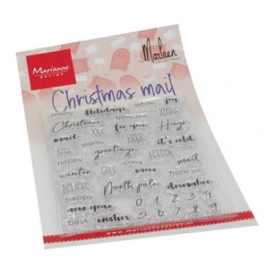 Marianne Design Clear Stamps - Christmas Mail