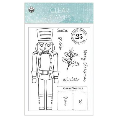 Piatek13 The Four Seasons: Winter Clear Stamps - Nutcracker
