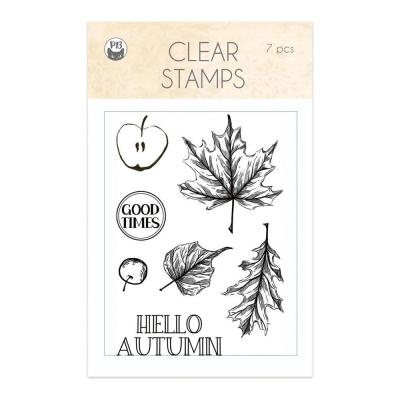 Piatek13 The Four Seasons: Autumn Clear Stamp - Hello Autumn