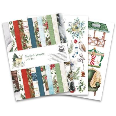 Piatek13 The Four Seasons: Winter Designpapier - Paper Pad