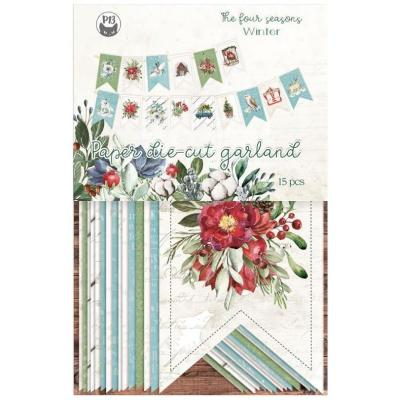 Piatek13 Die Cuts The Four Seasons: Winter - Garland