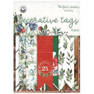 Piatek13 Tag set The Four Seasons: Winter - Decorative Tags