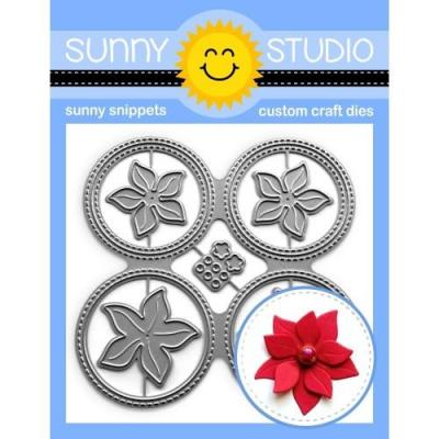 Sunny Studio Die - Window Quad Circle