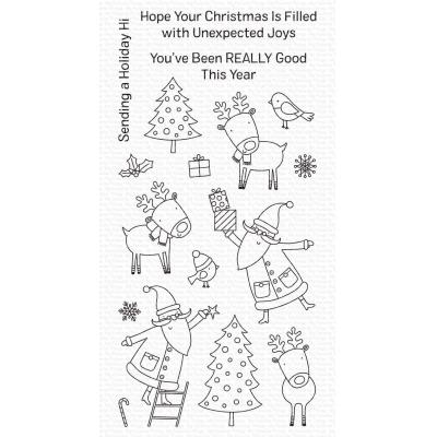 My Favorite Things Clear Stamps - Joyous Holidays