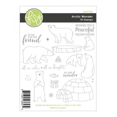 Fun Stampers Journey Clear Stamps - Arctic Wonder
