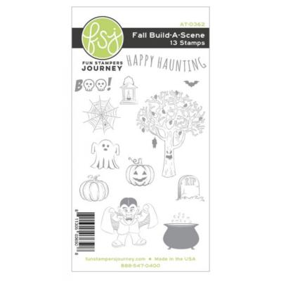 Fun Stampers Journey Rubber Stamps - Build-A-Scene