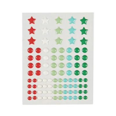 Fun Stampers Journey Enamel Dots - Party Burst