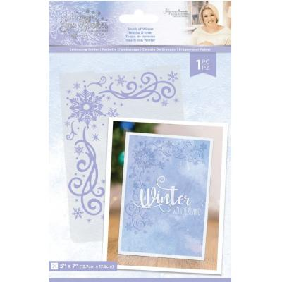 Crafter's Companion Glittering Snowflakes - Touch Of Winter