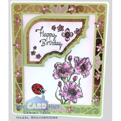 The Card Hut Clear Stamps - Floral Splash