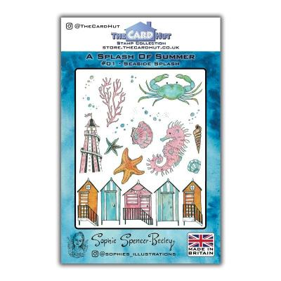 The Card Hut Clear Stamps - Seaside Splash
