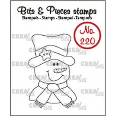 Crealies Clear Stamp - Schneemann no.220