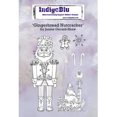 IndigoBlu Rubber Stamps - Gingerbread Nutcracker