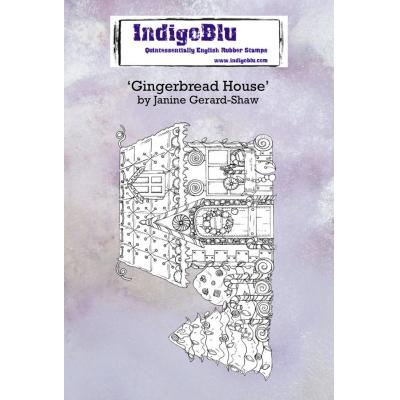 IndigoBlu Rubber Stamps - Gingerbread House