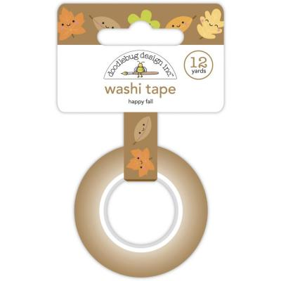 Doodlebug Pumpkin Spice Washi Tape - Happy Fall