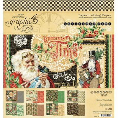 Graphic 45 Christmas Time - Paper Pad