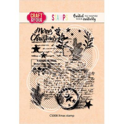 Craft&You Design Clear Stamp - Xmas