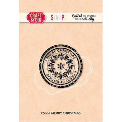 Craft&You Design Clear Stamp - Merry Christmas