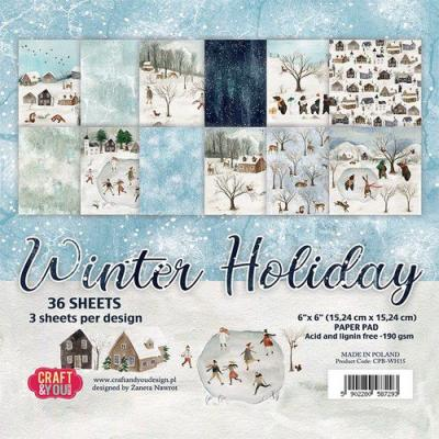 Craft&You Design Designpapier - Winter Holiday
