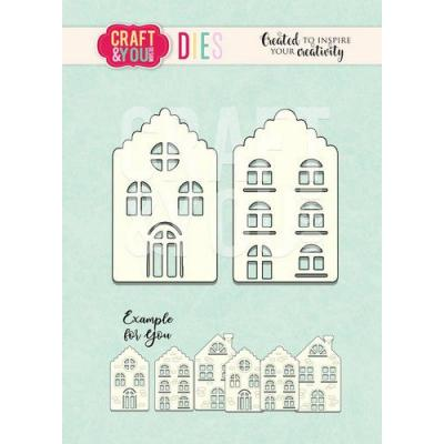 Craft&You Design Cutting Die - Häuser