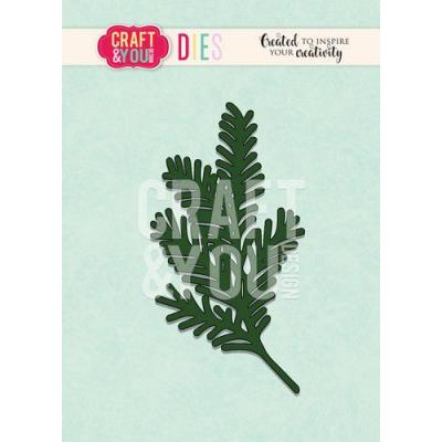 Craft&You Design Cutting Die - Nadelbaumzweig