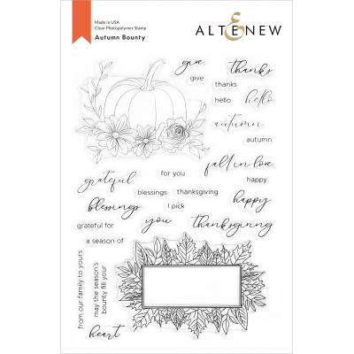 Altenew Clear Stamps - Autumn Bounty