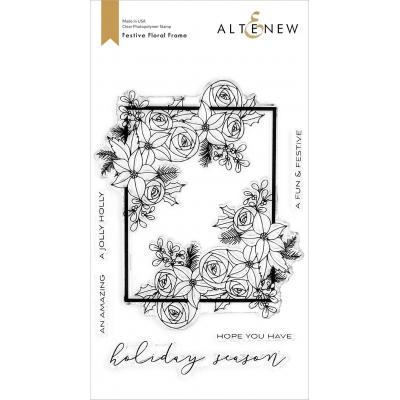 Altenew Clear Stamps - Festive Floral Frame