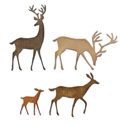 Sizzix Thinlits Die Set - Darling Deer