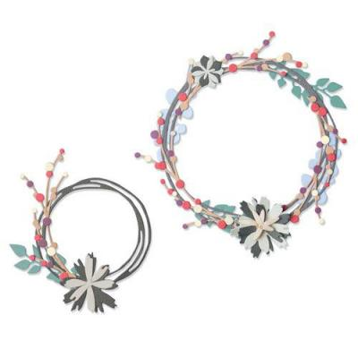 Sizzix Thinlits Die Set - Winter Garland