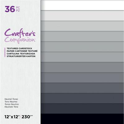 Crafter´s Companion Cardstock - Neutral Tones