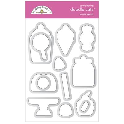 Doodlebug Ghost Town Doodle Cuts -  Sweet Treats