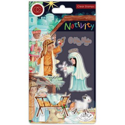 Craft Consortium Nativity Clear Stamps - Nativity