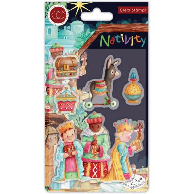 Craft Consortium Nativity Clear Stamps - Three Wise Men