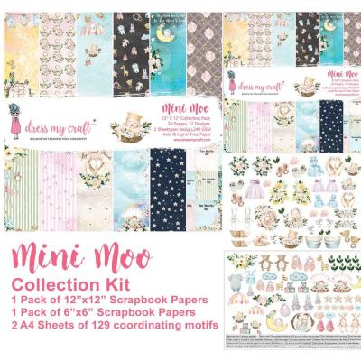 Dress My Crafts Collection Kit Designpapier - Mini Moo
