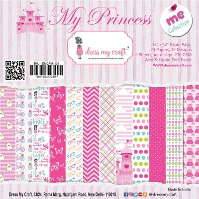 Dress My Crafts Paper Pad Designpapier - My Princess