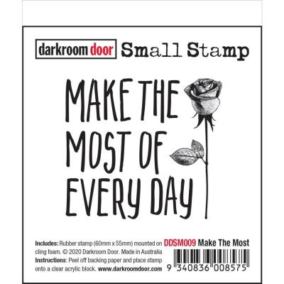 Darkroom Door Small Cling Stamp - Make The Most
