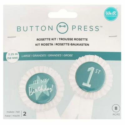We R Memory Keepers Button Press - Rosette Kit