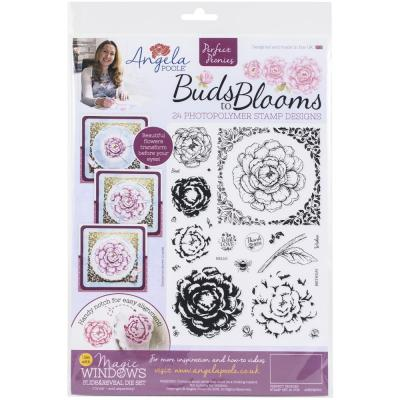 Angela Poole Clear Stamps - Buds To Blooms