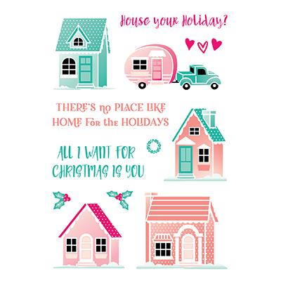 LDRS Creative Clear Stamps - 34th Street