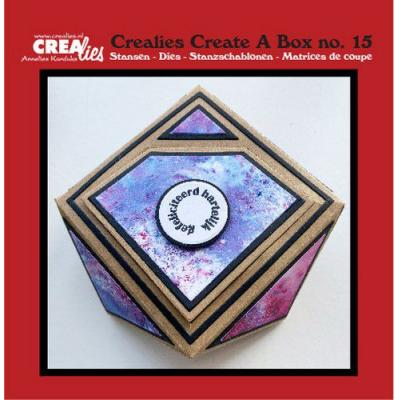 Crealies Create A Box dies - Nr. 15